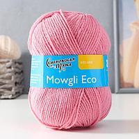 Пряжа Mowgli Eco (МауглиЭко) 90 акрил, 10 капрон 200м/50гр клевер (64)