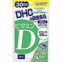 Витамин Д, на 30 дней, DHC 1000 МЕ