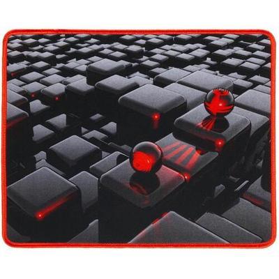 Коврик для мыши Oklick OK-F0282 Черный/красный