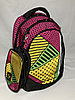 """Школьный рюкзак для девочек""""Glossy Bird"""",1-3 й класс. Высота 38 см, ширина 30 см, глубина 15 см."""