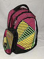 """Школьный рюкзак для девочек""""Glossy Bird"""",1-3 й класс. Высота 38 см, ширина 30 см, глубина 15 см., фото 1"""