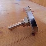 Термометр биметаллический резьба 1/2, корпус латунь., фото 2