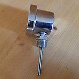 Термометр биметаллический резьба 1/2, корпус сталь 304., фото 2