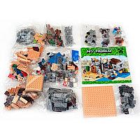 """Конструктор Bela """"Пустынная станция"""" (аналог Minecraft) 519 деталей"""
