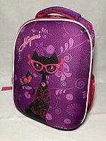 Школьный ранец для девочек, 1-3-й класс. Высота 38 см, ширина 27 см, глубина 16 см., фото 1