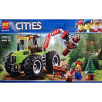 """Конструктор Bela CITIES """"Лесной трактор"""" (аналог City), 180 деталей"""