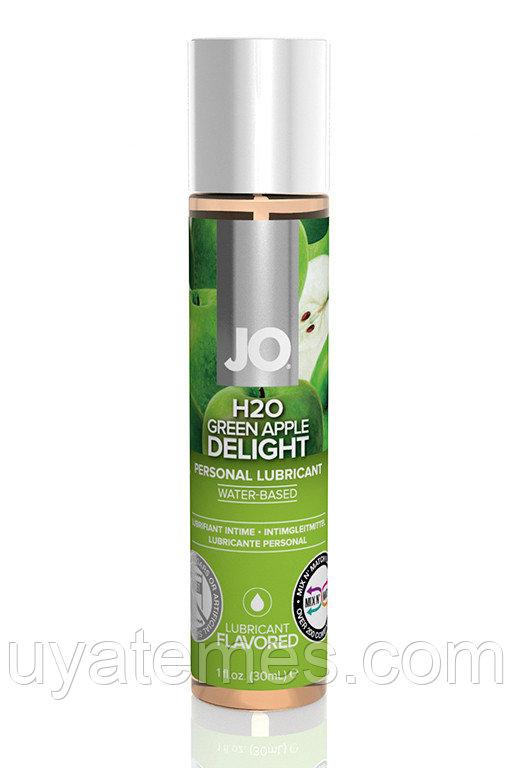 "ВКУСОВОЙ ЛУБРИКАНТ ""ЗЕЛЕНОЕ ЯБЛОКО "" / JO FLAVORED GREEN APPLE H2O 1OZ – 30 МЛ."
