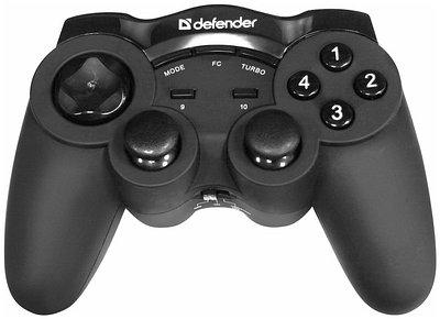 Геймпад Defender Game Racer Wireless G2