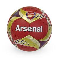 Матовый, Футбольный Мяч №5 - Arsenal / Красно-золотистый цвет