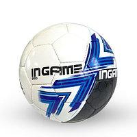 Лакированный, Футбольный мяч №5 - in Game PRO / Белый-Черный цвет