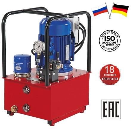 Маслостанция гидравлическая НЭР-1,6И10Т1 электрическая 1,6 л/мин 10 л 700 бар 380 В