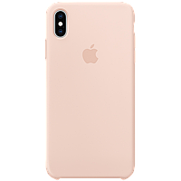 IPhone XS Max Silicone Case - Pink Sand, Model