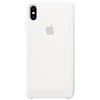 IPhone XS Max Silicone Case - White, Model