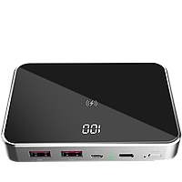 Prestigio Graphene PD, fast charging powerbank, capacity 10000 mAh, 2*USB3.0 quick charge, 1*Type-C PD,