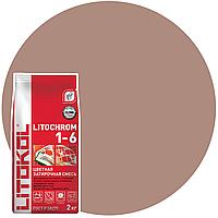 LITOCHROM 1-6 C.80 коричневый затир.смесь (2kg Al.bag) 15 шт, фото 1