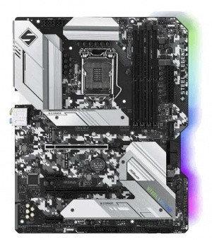 MB Socket1200, ATX, iH470 (DP+HDMI+GNIC+SB) ASRock H470 Steel Legend, 4DDR4, 2PCIx16, 2PCIx1