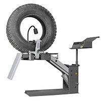 Борторасширитель стационарный для грузовых колес. Пневмопривод. KraftWell KRW1TS