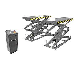 Подъемник ножничный короткий г/п 3200 кг. заглубляемый KraftWell KRW3.2U/220