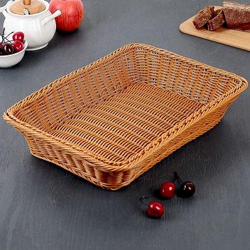Корзина для продуктов Доляна, 40×29,5×8 см