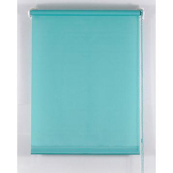 Рулонная штора «Комфортиссимо», 90х160 см, цвет морская волна