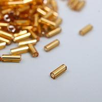 """Стеклярус """"Астра"""" 0,5 см, 20 гр., золото"""