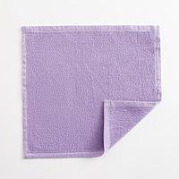Полотенце махровое Экономь и Я 30х30 см, цв. лиловый, 100 хл, 260 гр/м2 (комплект из 4 шт.)
