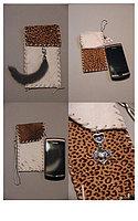 Чехлы из натурального меха для сотовых телефонов