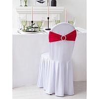 Декор для стула, цв.розовый, 15*35 см, 100 п/э