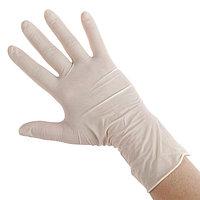 Медицинские перчатки Benovy M латексные, опудренные, гладкие (комплект из 50 шт.)