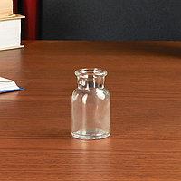 Бутылка для аромамасел/декора стекло 'Лёгкость' прозрачная 30 мл 6,5х3,5х3,5 см