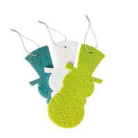 Основа для творчества - ёлочное украшение 'Снеговик' набор 3 шт.,размер 1 шт 12 см,цвета МИКС