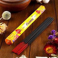 Благовония Sarathi 'Floral. Цветочный', 20 палочек в упаковке, шестигранник (комплект из 6 шт.)