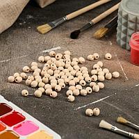 Деревянная заготовка 'Бусина', d10 мм, массив бука (комплект из 100 шт.)