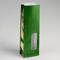 Пакет бумажный фасовочный 'Чайный лист', 8 х 5 х 24 см (комплект из 10 шт.)