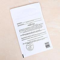 Крафт-конверт с воздушно-пузырьковой плёнкой 'Повестка', 15 х 21 см (комплект из 10 шт.)