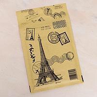 Крафт-конверт с воздушно-пузырьковой плёнкой 'Франция', 15 х 21 см (комплект из 10 шт.)