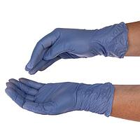 Перчатки медицинские диагностические неопудренные KOMETALI, витрил (винил с добавлением нитрила), размер L,