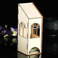 Заготовка для декупажа 'Чайный домик с пологой крышей' 9 х 8 х 23 см
