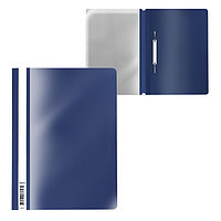 Папка-скоросшиватель A4, ErichKrause Fizzy Classic, синяя (комплект из 20 шт.)