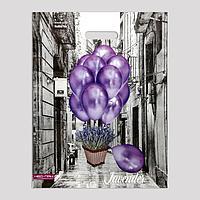 Пакет 'Воздушные шары', полиэтиленовый с вырубной ручкой, 38х47 см, 60 мкм (комплект из 25 шт.)