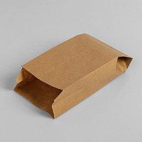 Пакет бумажный фасовочный, крафт, V-образное дно 20 х 10 х 5 см (комплект из 200 шт.)