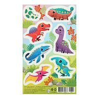Наклейки 'Динозавры' яйцо (комплект из 20 шт.)