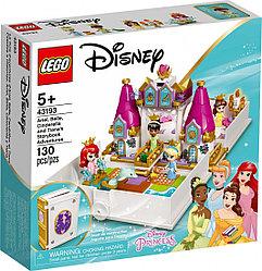 43193 Lego Disney Princess Книга сказочных приключений Ариэль Белль, Золушки и Тианы, Лего Принцессы