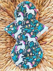 Многоразовая ночная прокладка 30,5 см (6-8💧) – Ecorina