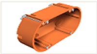 Монтажная коробка для полых стен двойная HG 60 2 / 138x68x50 мм