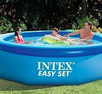 Круглый надувной бассейн Intex Easy Set Pool 244*76 см