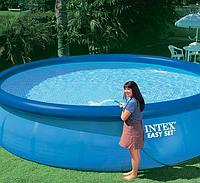 Круглый надувной бассейн Intex Easy Set Pool 396*84 см