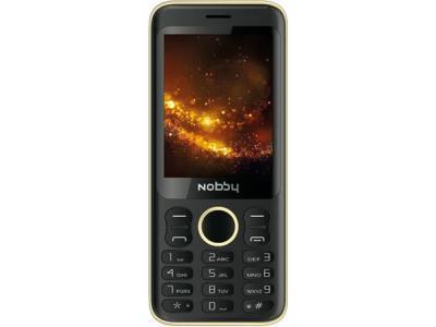 Мобильный телефон Nobby 321 Черный/золотистый
