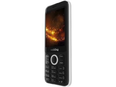 Мобильный телефон Nobby 321 Черный/серебристый