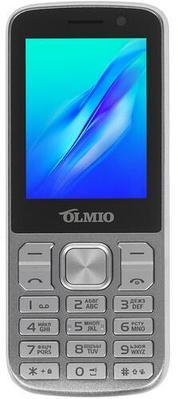 Сотовый телефон Olmio M22 Серебристый